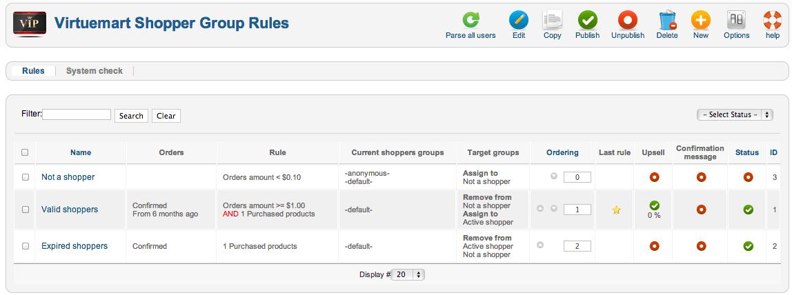 vmsgc rules