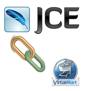 Virtuemart links for JCE